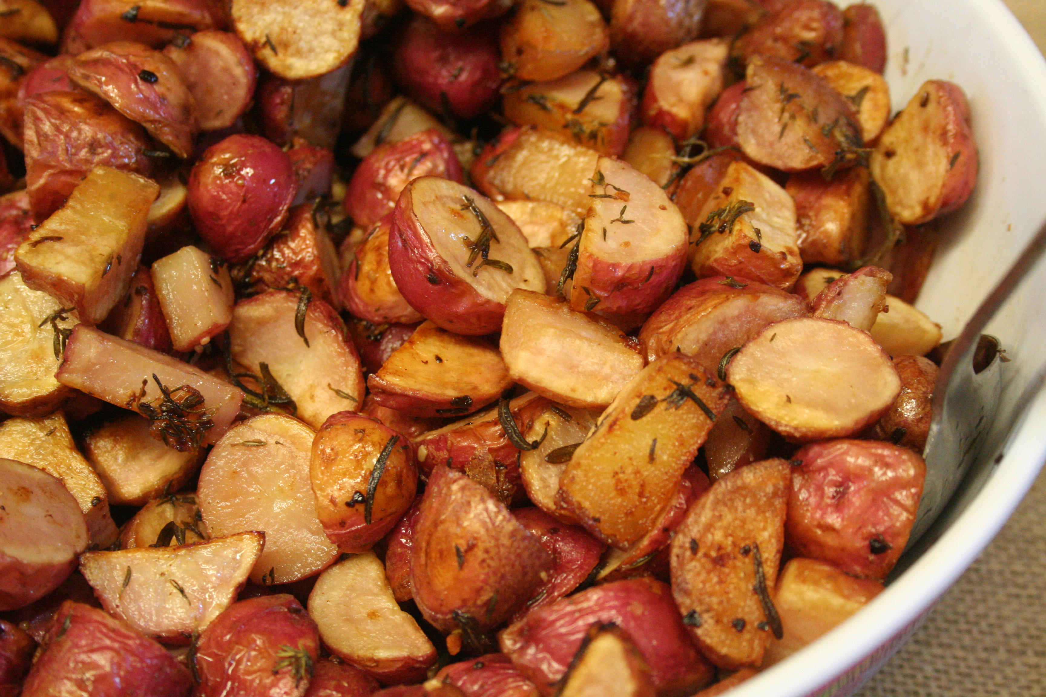Herb roasted potatoes field grazing - What to do with potatoes ...